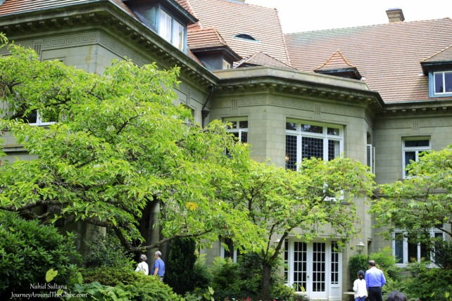 Pittock Mansion in Portland, Oregon. The Pittocks spent somewhere from $190,000 to $350,000 building the mansion