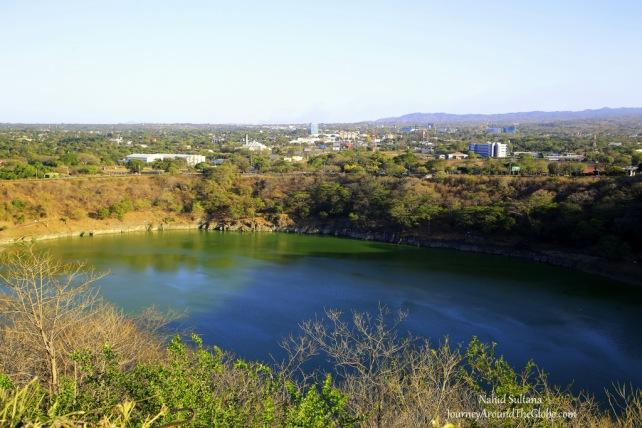 Mirador Lagoon in Managua, Nicaragua