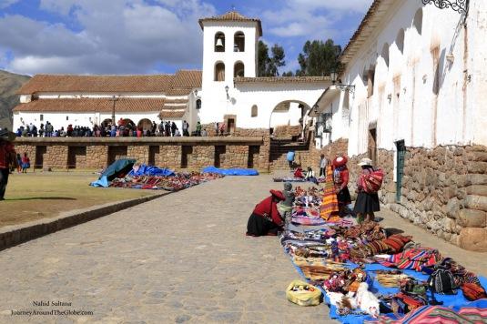 Santa Cataline Monastery in Chinchero, Peru