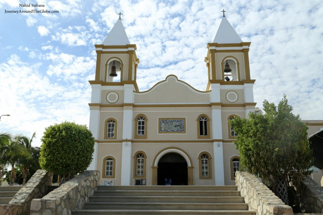 Cathedral in San Jose del Cabo, Mexico