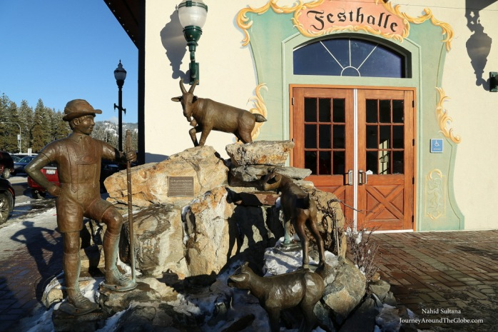 Artistic places of Leavenworth in Washington