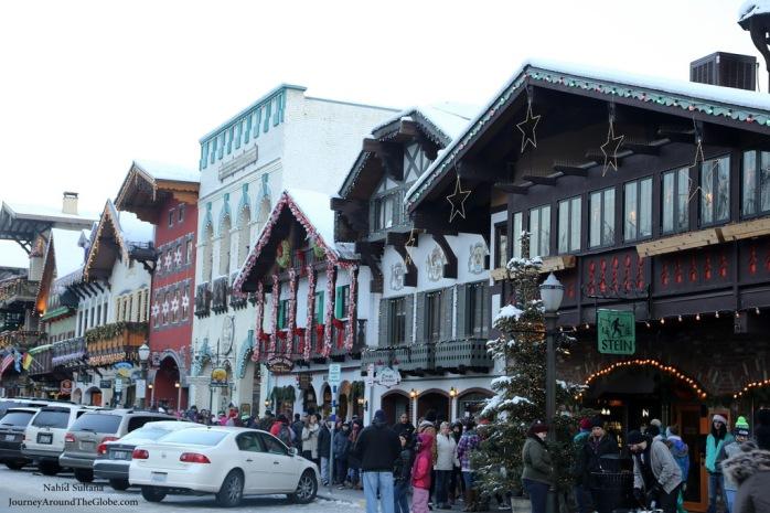 Bavarian style houses in Leavenworth, WA