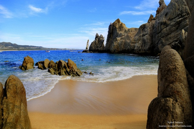 Lover's Beach or Playa del Amor in Cabo, Mexico