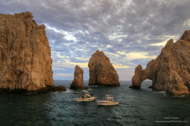 Land's End and The Arch of Cabo in Mexico