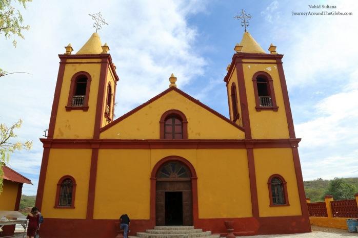 Iglesia de El Triunfo in Cabo, Mexico