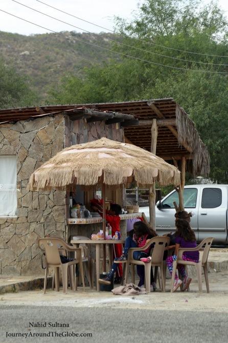 A small Mexican village - El Triunfo