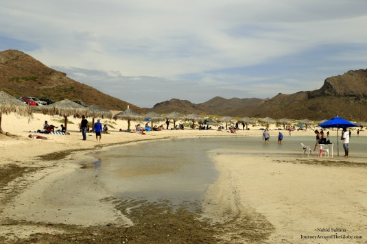 Playa Ballandra in Cabo, Mexico