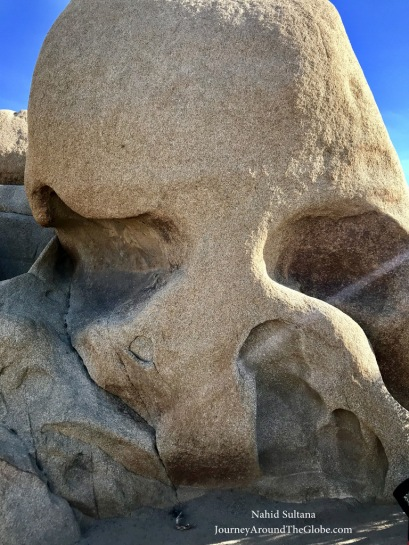 Skull Rock in Joshua Tree National Park, California