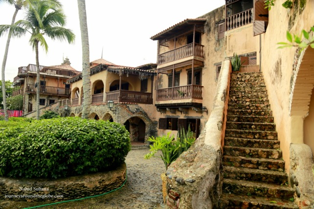 Architectural beauty of Altos de Chavon in Punta Cana, DR