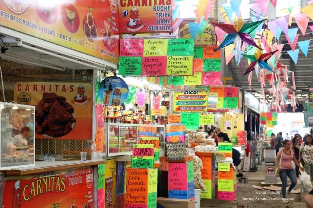 Mercado Pino Suarez in Downtown Mazatlan, Mexico