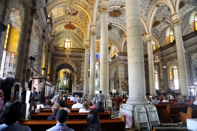 La Inmaculada Concepcio or The Cathedral of the Immaculate Conception in Mazatlan, Mexico
