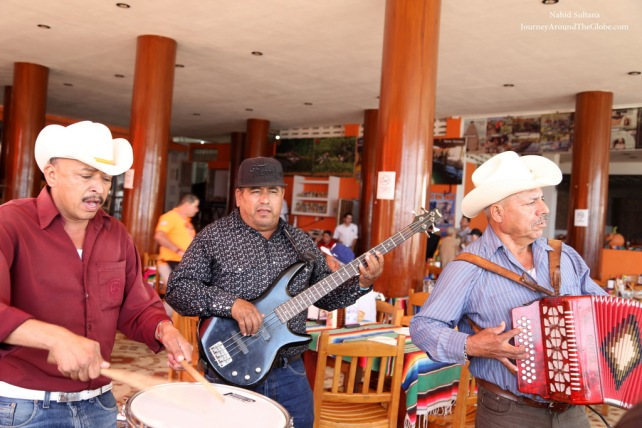 Mariachi band at Mr. Lionso in Mazatlan, Mexico