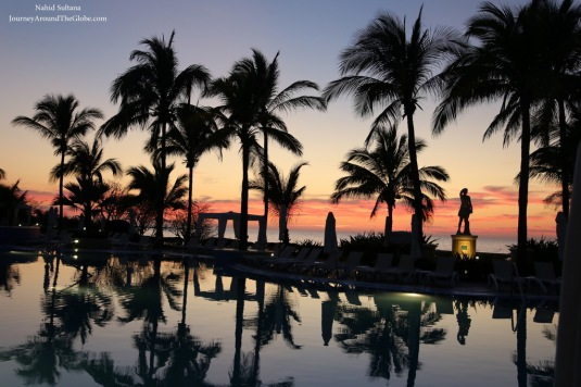 And that sunset by the beach in Mazatlan, Mexico