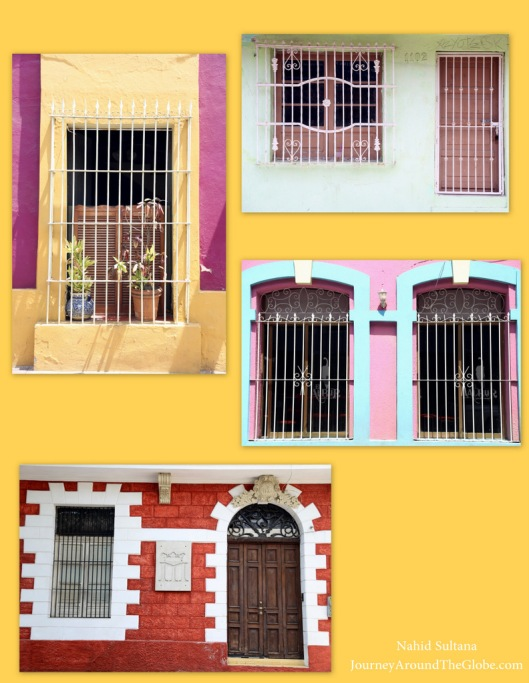Loved those windows and doors in and around Plaza Machado in Mazatlan, Mexico