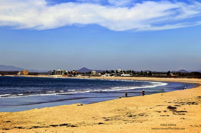 Stunning beach of Mazatlan in Mexico