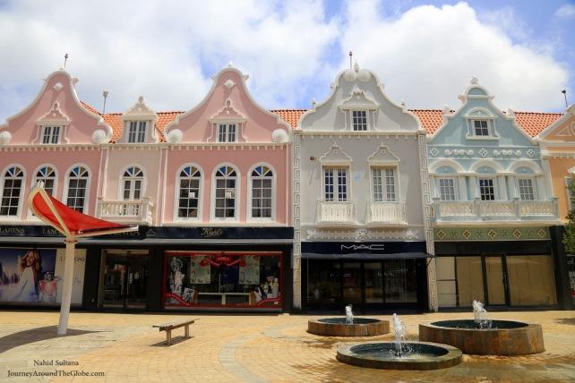Plaza Daniel Leo in Oranjestad, Aruba