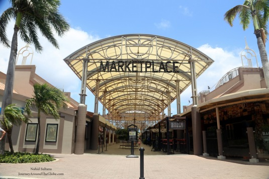 Renaissance Marketplace in Oranjestad, Aruba