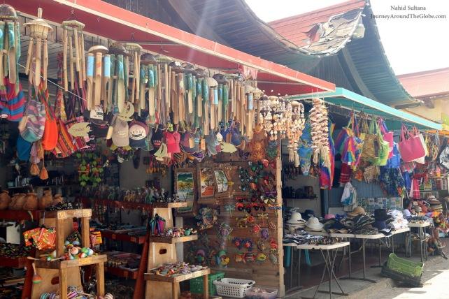 Some souvenirs shop opposite of Royal Plaza in Oranjestad, Aruba