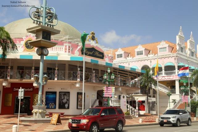 Royal Plaza in Oranjestad, Aruba