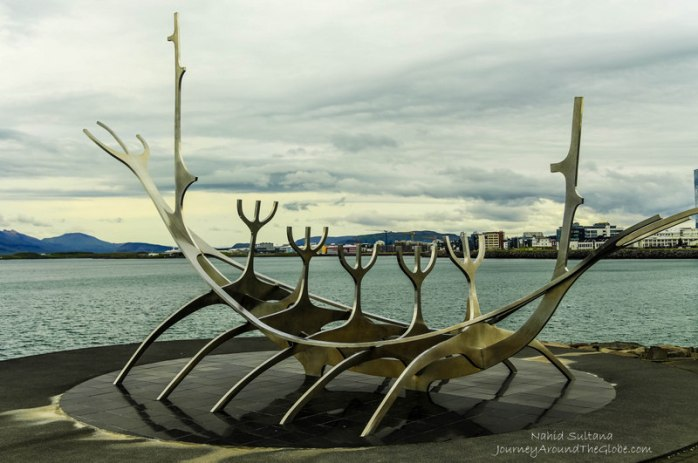 Sun Voyager in Reykjavik, Iceland