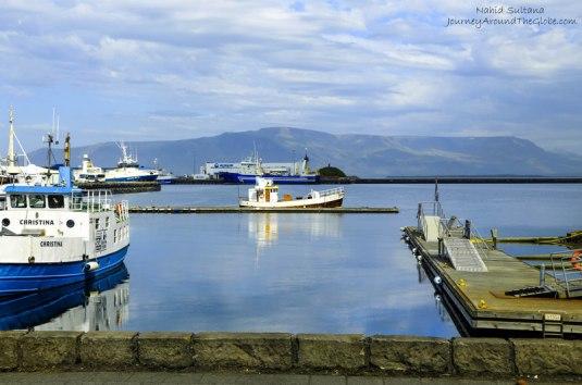 Old Harbor in Reykjavik, Iceland